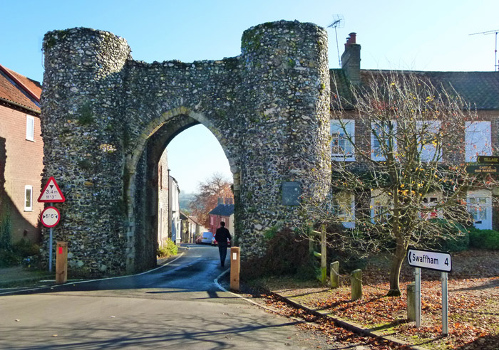 The Castle at Castle Acre