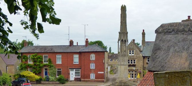 Geddington's Queen Eleanor Cross