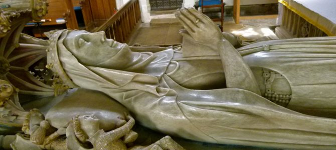 Visiting Alice de la Pole and St Mary's, Ewelme