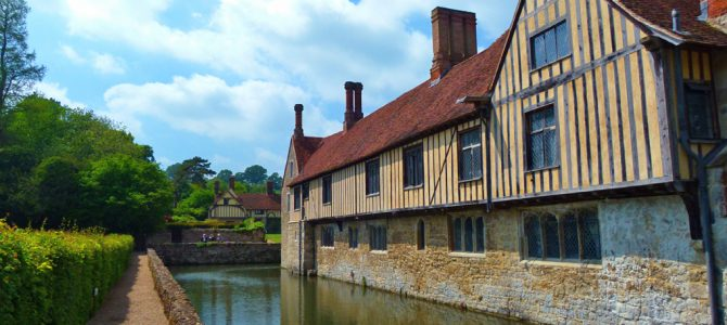 Ightham Mote, medieval, Tudor and American