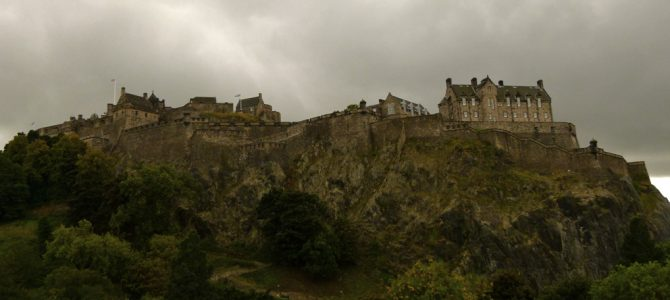 Formidable Edinburgh Castle