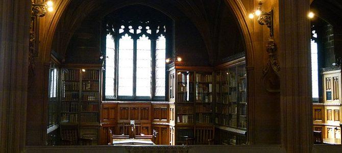 Manchester's John Rylands Library