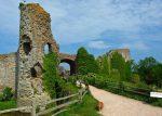 Pevensey Castle, East Sussex, places to visit