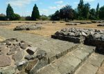 The remains of Leicester Abbey