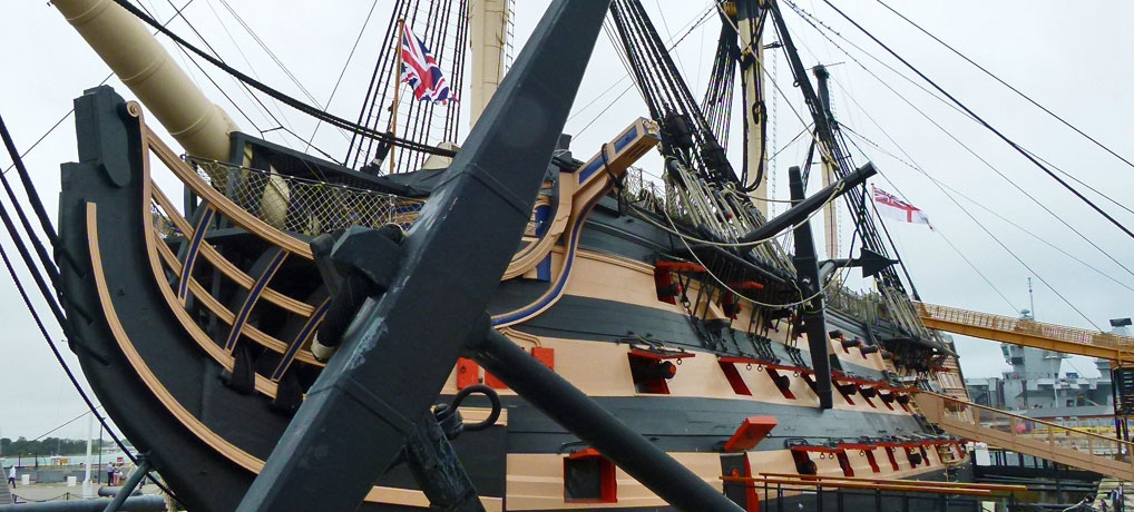 HMS Victory, icon of empire