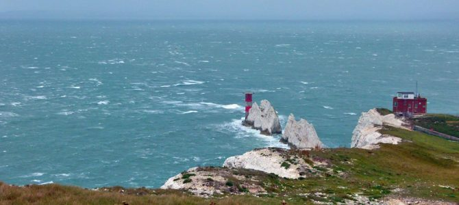 The Needles – a tale of shipwrecks, Victorian forts and Cold War