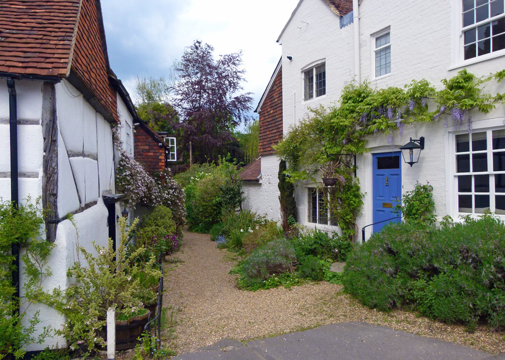 Houses in Shere, Surrey