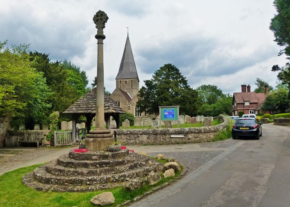 St James church, Shere