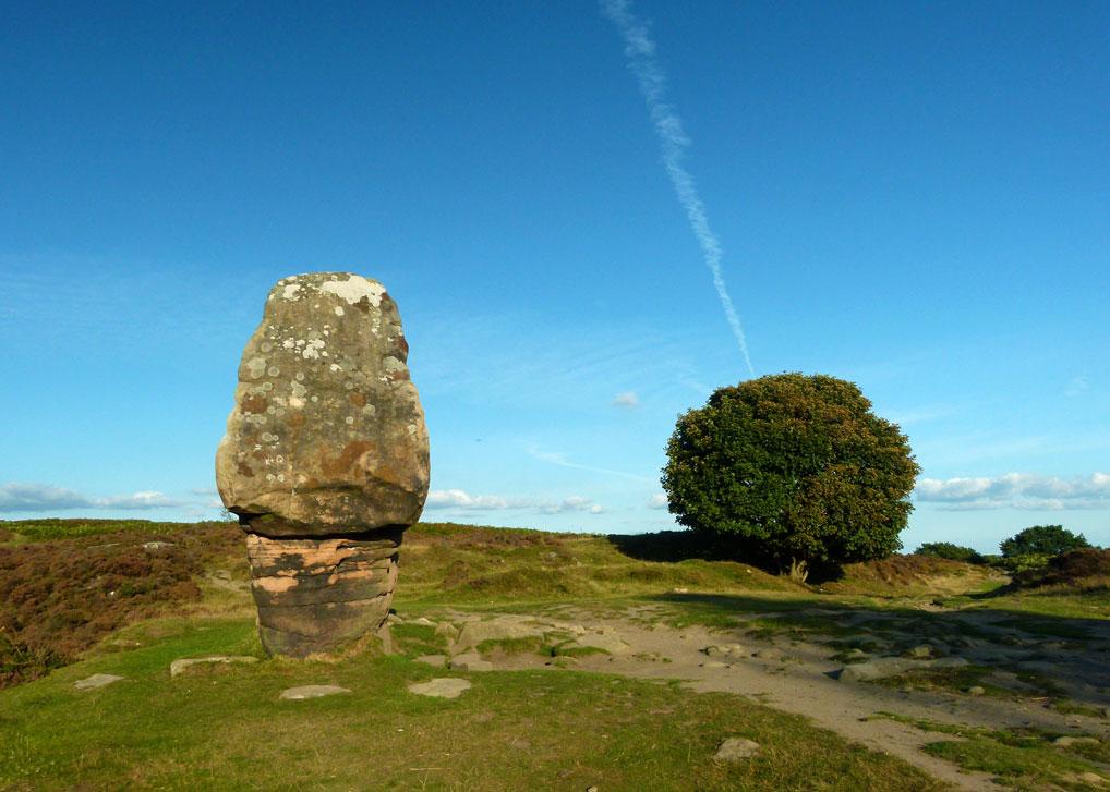 The Cork Stone, Stanton Moor